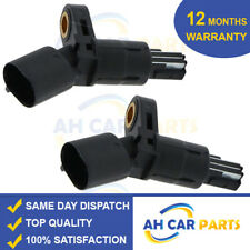 2X REAR ABS SPEED SENSOR FOR AUDI SEAT SKODA VW  LEFT AND RIGHT 1J0927807B