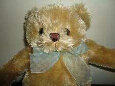 Animal Alley Toys R Us Canada Golden TEDDY BEAR 11 Inch with Chiffon Ribbon 2009