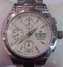 Orologio Uomo Lorenz Automatico Cronografo Automatic Chronograph Mens watches