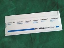 Old Vintage ASTA Medica Oncology Kalkulator SLIDE RULE Made in W.Germany 1982