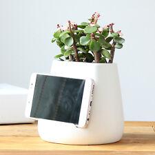 Modern simplicity Office desktop Ceramic Vase Smartphone Holder Stand pen holder