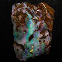 Unglaublich schöner Boulder Opal 166 Karat aus Queensland / Anlagemöglichkeit!!