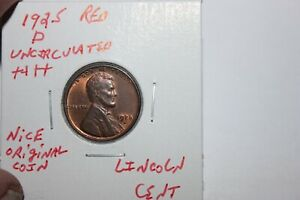 1925-D   RED   UNC+++  LINCOLN CENT