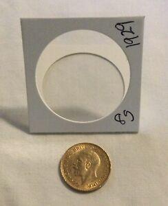 1929 GOLD BRITISH SOVEREIGN GOLD COIN 8 grams