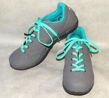 37 5.5/US MINT Louis Garneau Opal Women's Asphalt Cycling SPD Spin Shoe GREY