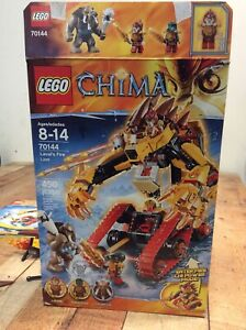 Lego  Legends of Chima~70144~Laval's Fire Lion~Ages 8-14~Incomplete~