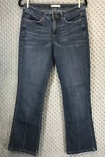 Lee Midrise Bootcut Jeans Medium Wash Denim Size 8 Stretch Casual Everyday