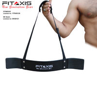 FITAXIS-Arm Blaster Biceps Isolator Bomber Curl Fitness Weight Lifting Workout