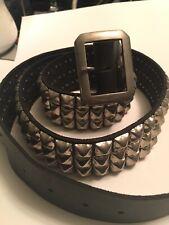 New listing Vintage studded leather belt!