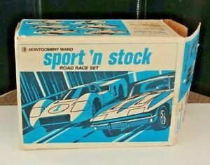 Eldon Montgomery Ward Sport 'n Stock Road Race Set