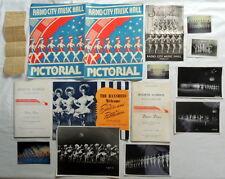 Original Rockettes Personal Memorabilia Collection, Radio City Music Hall Nyc