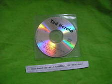 CD Schlager Ted Herold - Rock'n'Roll & Petticoat (1 Song) Promo WILDCORNER