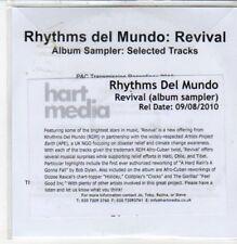 (DC198) Rhythms del Mundo, Revival sampler - 2010 DJ CD