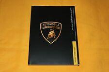 Lamborghini Collezione 2013 Prospekt Brochure Catalogue Depliant Prospetto
