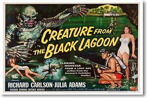 Creature From The Black Lagoon 2 - NEW Vintage Movie POSTER
