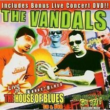 The Vandals Live At The House Of Blues The Show Must Go Off 9 CD+DVD NEW Punk