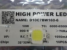 High Power 10w LED Lamp Bulb Chip x 10pcs