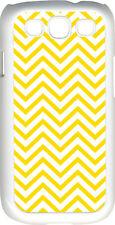 Chevron Yellow Designed Samsung Galaxy S3 Case Cover