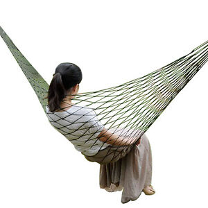 Garden Hammock Portable for Camping Outdoors Fishing Swing Seat