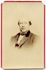 MAN WITH GREAT GOATEE AND NICE SUIT ANTIQUE CDV