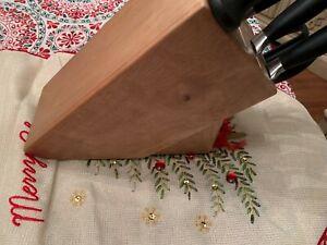 Zwilling Five Star 8-Piece Knife Block Set