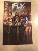 Zenescope Fly The Fall #1 Cover B Autographed Signed
