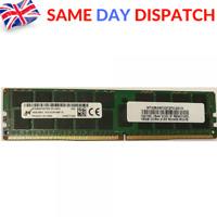 Micron 1X 16GB 2Rx4 PC4-2133P PC4-19200R DDR4 288PIN Server Memory RAM ECC RAM