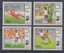 Fidschi-Inseln (Fiji) - Michel-Nr. 606-609 postfrisch/** (Fußball / Soccer)