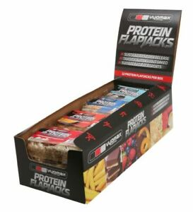 Vyomax Nutrition Protein Flapjack x 4 (Choose your flavour combination)
