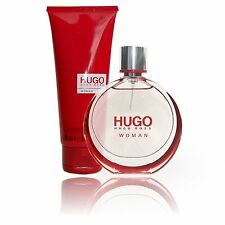 Hugo Boss Woman 50ml EdP und 100ml Bodylotion Geschenkset Damenparfüm Original