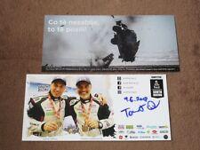 Tomas OUREDNICEK - original AG, (2018) FORD Ranger Dakar, Karte/card 10x21 cm
