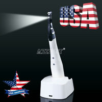 Dental LED Wireless Endodontic Endo Motor 16:1 Contra Angle Treatment