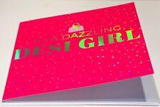 To A Dazzling Desi Girl Birthday Card - Eastern Print Studio