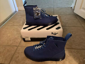 Off white Vigil Colab X Doc Dr Martens Tabil Blue Very Limited Edition! US 10.5