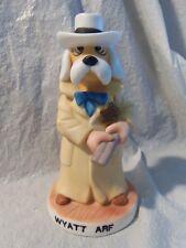 The Prairie Dawg Collection Wyatt Arf Western Porcelain Dog Figurine