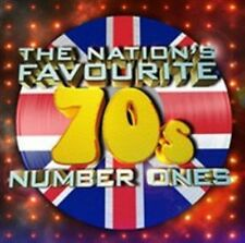 The Nations Favourite 70s Number Ones 3 CD Digipak CDs Are 2015
