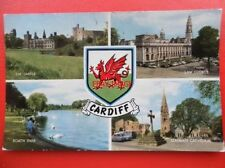 Cardiff Unposted Printed Collectable Welsh Postcards
