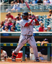 PABLO SANDOVAL  BOSTON RED SOX    ACTION SIGNED 8x10