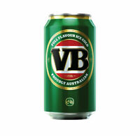 VB Beer Can Sticker Fun MAN CAVE BAR Race Trailer Window Boat Camping Speedway