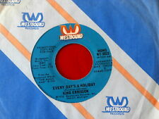 KING ERRISSON~ EVERY DAY'S A HOLIDAY~ NEAR MINT~ MODERN BOOGIE~ PROMO ~ SOUL 45
