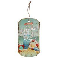 Clayre&Eef Holzschild Surfrider BEACH Wandschild  Wanddeko Schild Neu