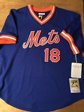 MITCHELL   NESS New York Mets Strawberry BATTING PRACTICE JERSEY MLB 004935103