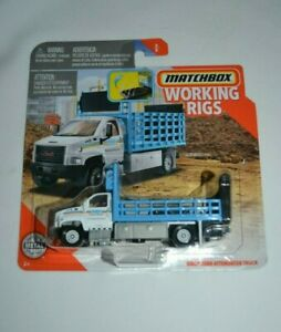 2019 MATCHBOX WORKING RIGS - GMC 3500 ATTENUATOR TRUCK