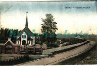 AK Jelgava (Mitau) Lettland, Trinitatis-Friedhof, 1917, 01/12