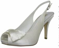 Menbur Slingback Womens Bridal Shoes - UK Size 7.5 (EU 41)