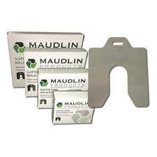 Maudlin Products Msc003-20 Slotted Shim,C-4x4 Inx0.003In,Pk20