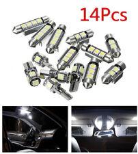 14Pcs White Car Interior LED Light Package Kit For BMW 3 Series E90 328i 335i M3