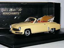 Minichamps 1959 Wartburg 311/2 Cabriolet Beige 1/43