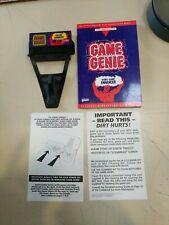 Nintendo - Game Genie with Codebook & Programming Manual