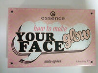 essence #05 How To Make Your Face Glow Make-Up Box: Bronzer, Highlighter & Blush